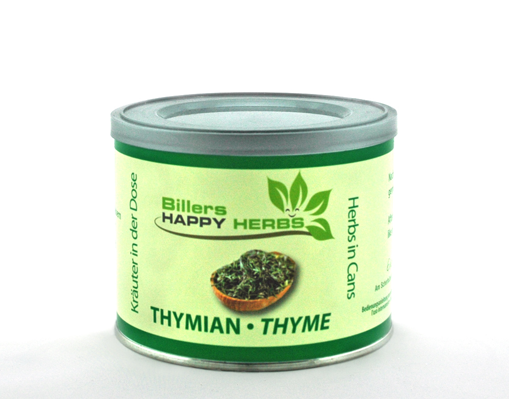 Billers Happy Herbs Thymian<br>Kräuter in der Dose